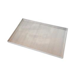 Plech na pečení hliníkový děrovaný se silikonovým povrchem